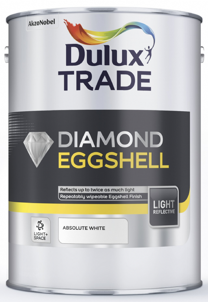 Dulux Trade Diamond Quick Dry Eggshell Light Amp Space
